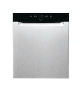 Whirlpool-opvaskemaskine: inox-farve, fuld størrelse - WUE 2B26 X