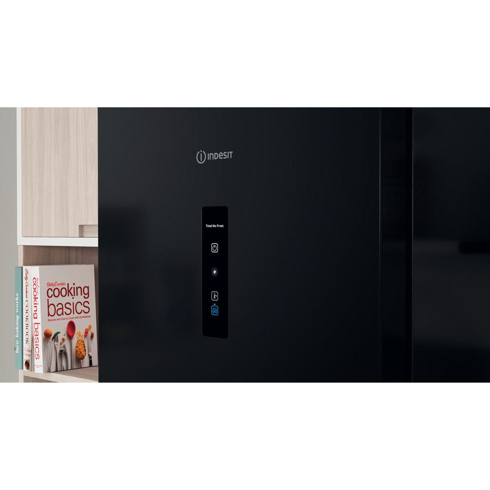 Indesit Холодильник с морозильной камерой Отдельностоящий ITS 5200 B Черный 2 doors Lifestyle control panel
