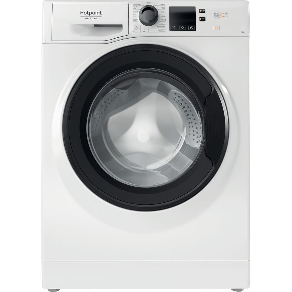 Hotpoint_Ariston Máquina de lavar roupa Livre Instalação NS 722U WK SPT N Branco Carga Frontal E Frontal
