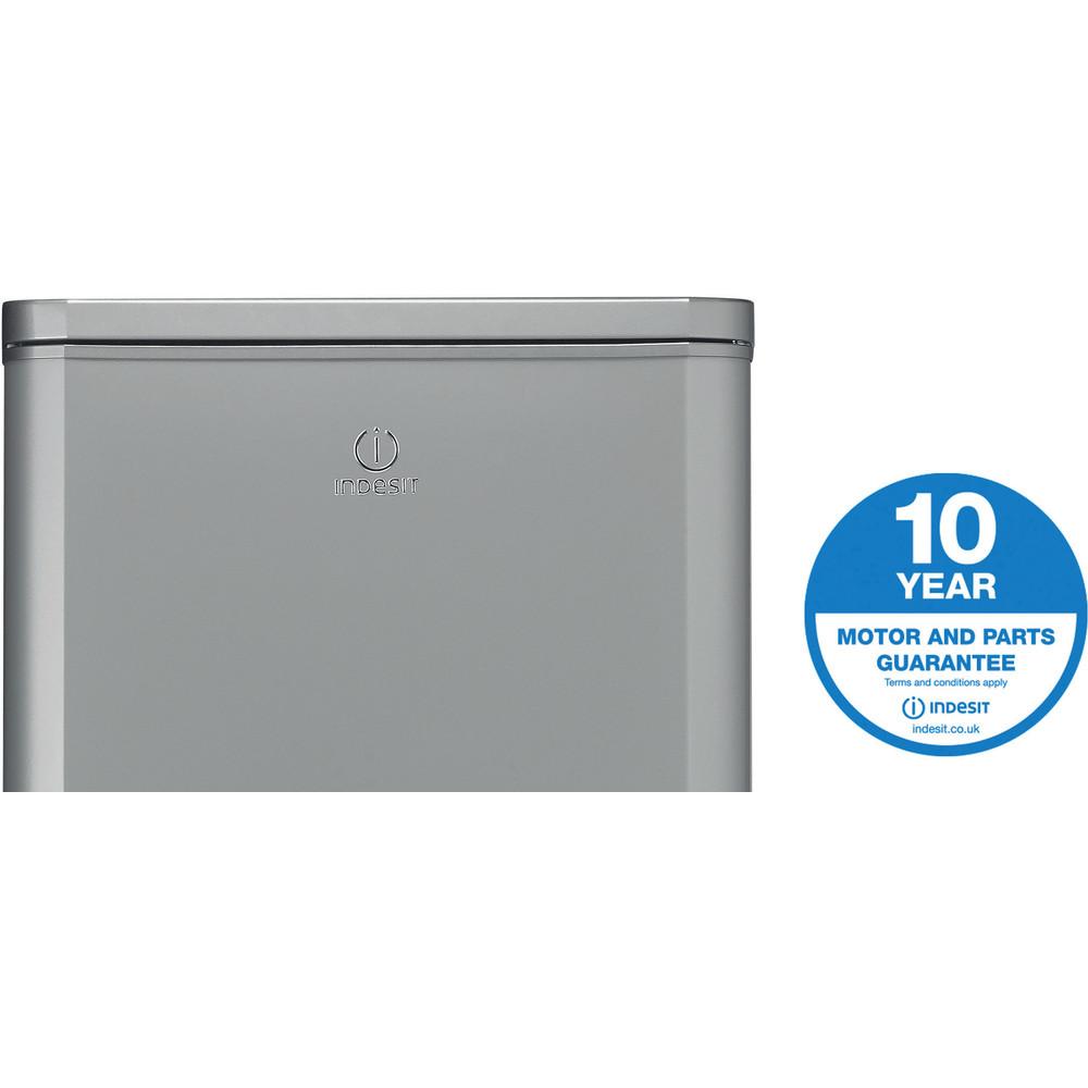 Indesit Fridge Freezer Free-standing IBD 5517 S UK 1 Silver 2 doors Award