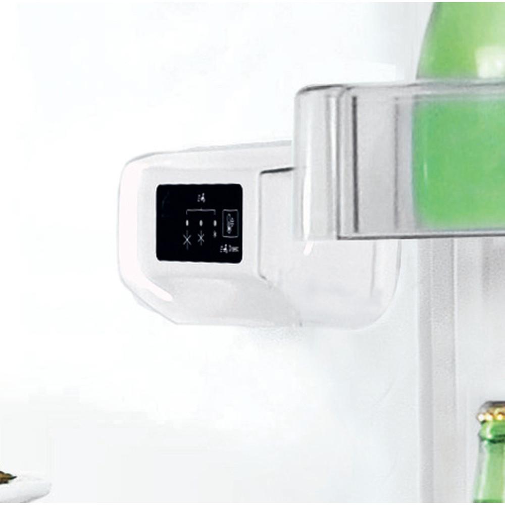 Indesit Kombinovaná chladnička s mrazničkou Voľne stojace LI7 S2E W Biela 2 doors Control panel