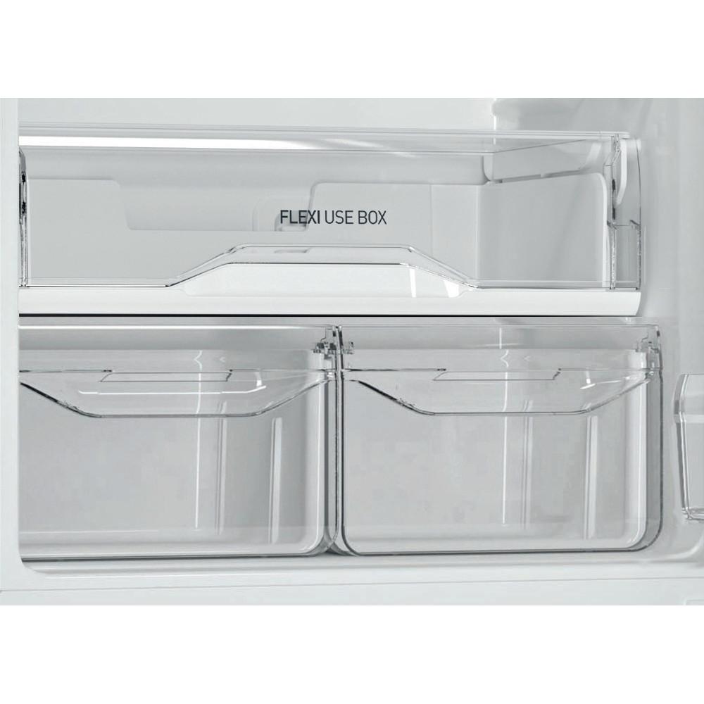 Indesit Холодильник с морозильной камерой Отдельностоящий DS 4180 W Белый 2 doors Drawer