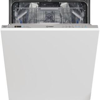 Indesit Lave-vaisselle Encastrable DIC 3C24 AC S Tout intégrable E Frontal