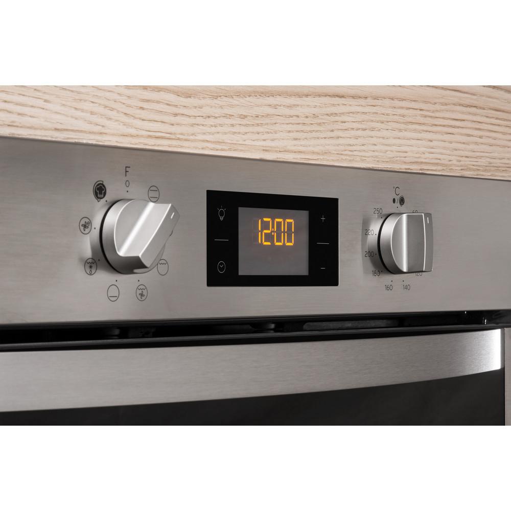 Indesit Духовой шкаф Встраиваемый IFW 5844 JH IX Электрическая A Lifestyle control panel