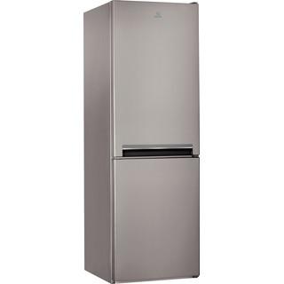 Indesit Холодильник с морозильной камерой Отдельно стоящий LI7 S1 X Оптик Inox 2 doors Perspective