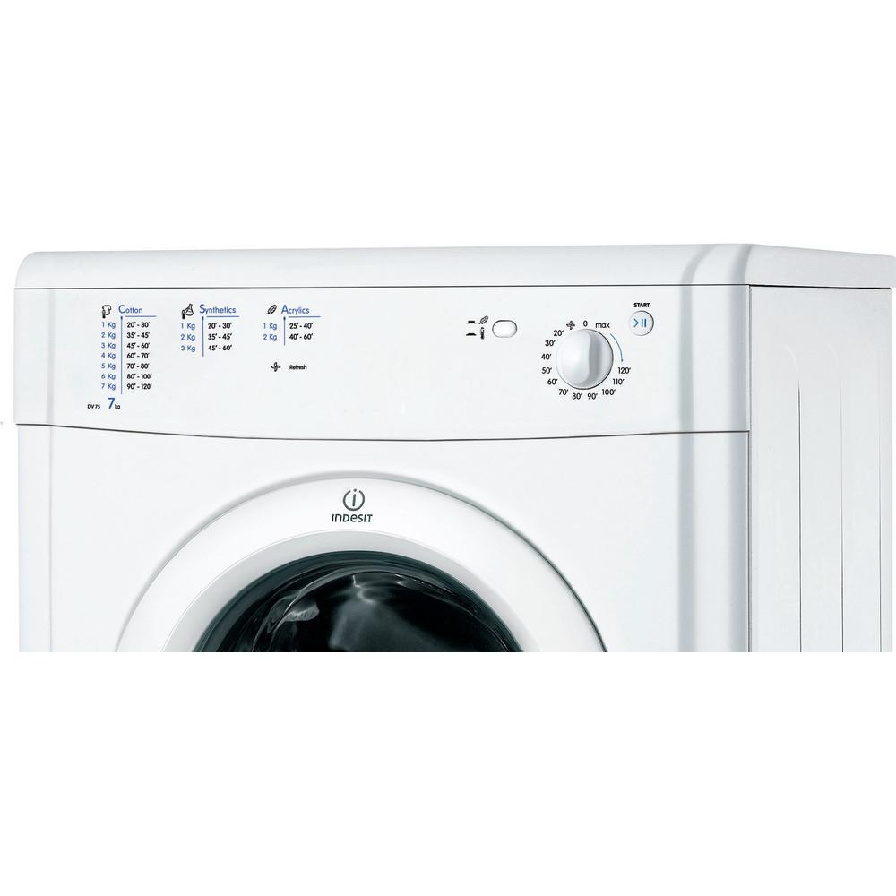 Indesit Sèche-linge IDV 75 (EU) Blanc Control panel