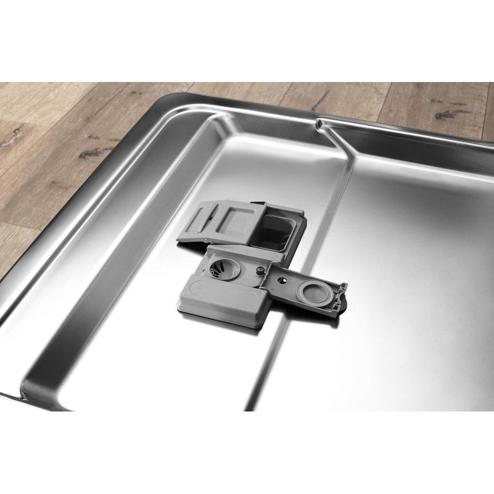 Indesit Vaatwasser Ingebouwd DIC 3C24 Volledig geïntegreerd E Drawer