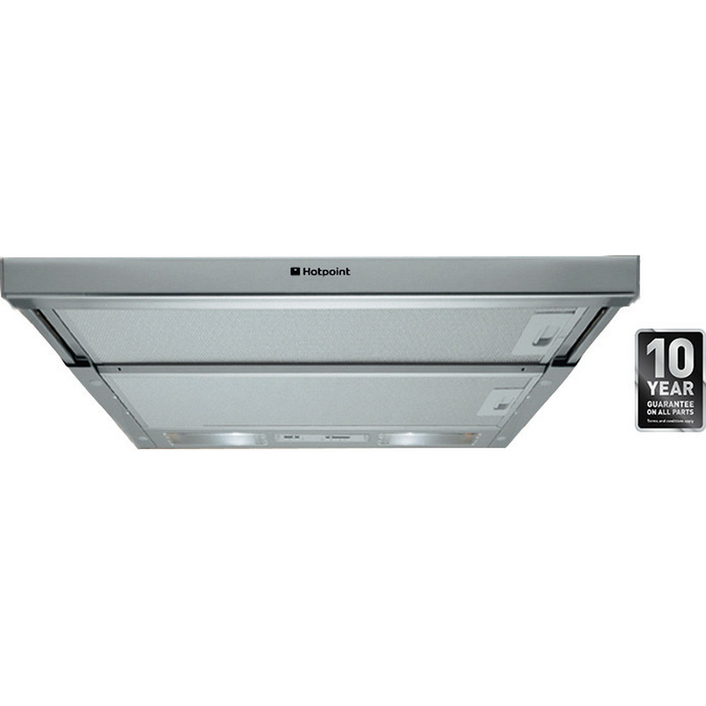 Hotpoint HOOD Built-in HSFX.1 Inox Built-in Mechanical Frontal