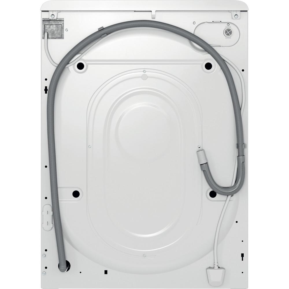 Indsit Maşină de spălat rufe Independent MTWSE 61252 W EE Alb Încărcare frontală A +++ Back / Lateral