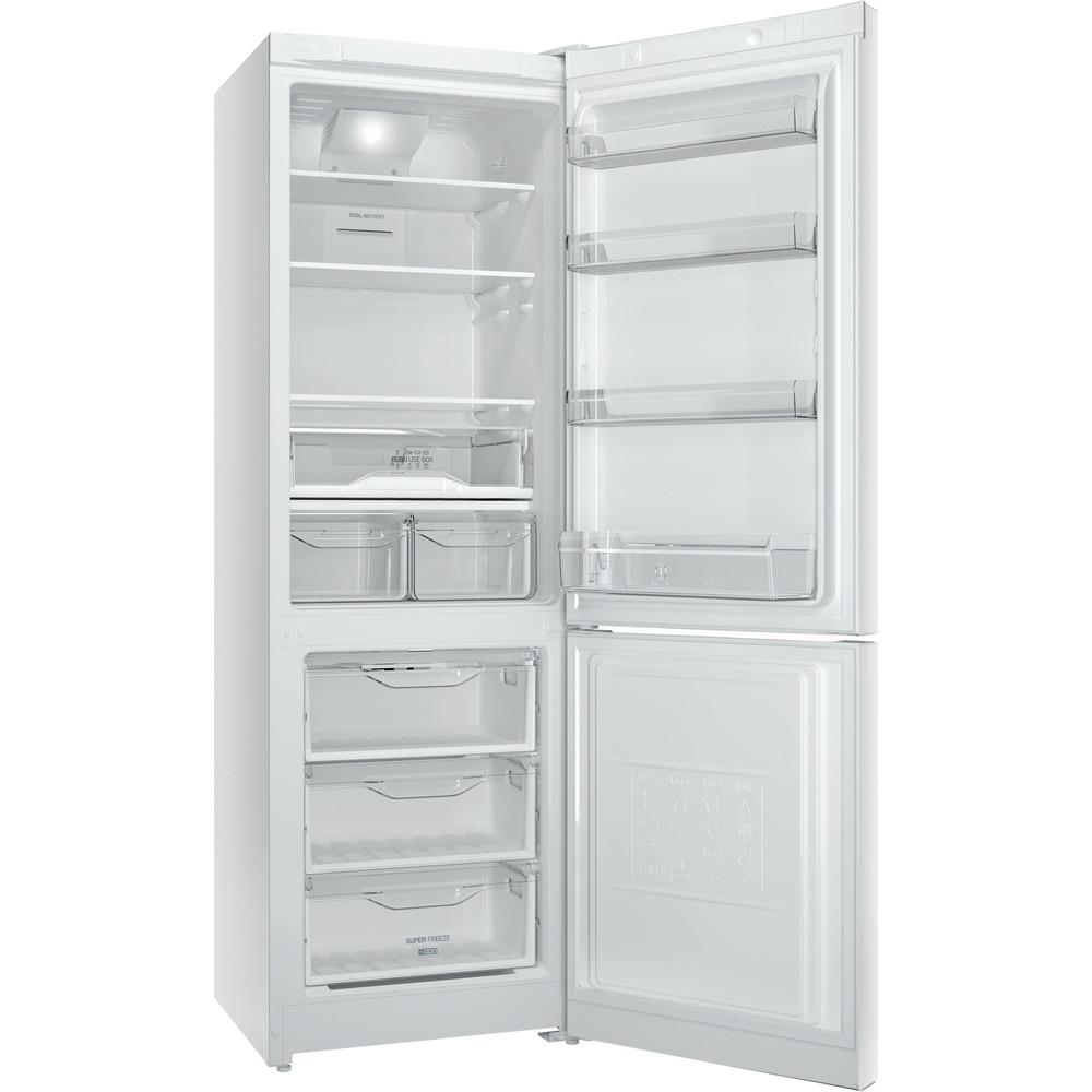 Indesit Холодильник с морозильной камерой Отдельностоящий ITF 118 W Белый 2 doors Perspective open