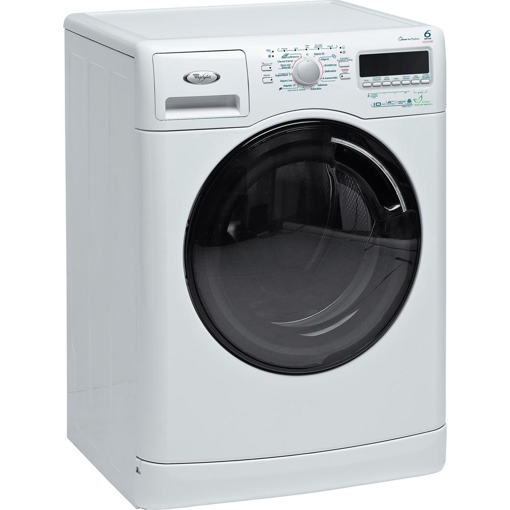 Lavadora carga frontal de libre instalación Whirlpool: 10kg - AWOE 10711