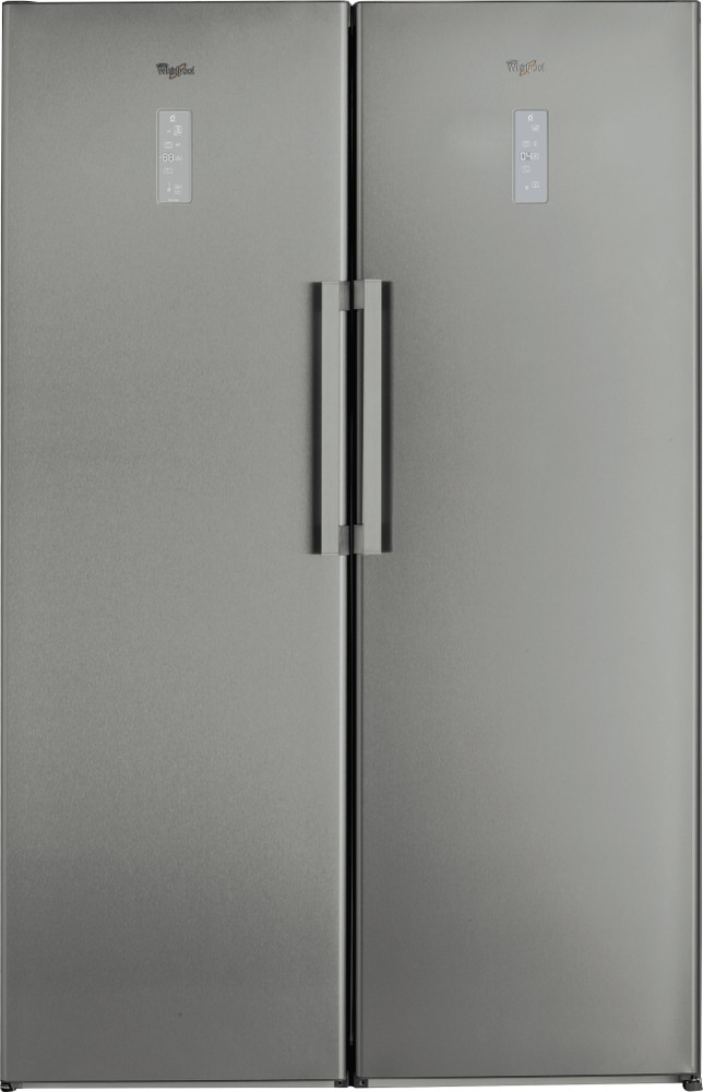 Whirlpool Refrigerator Free-standing SW8 AM2 D XR Optic Inox Frontal