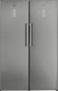 Vapaasti sijoitettava Whirlpool jääkaappi: Ruostumaton - SW8 AM2 D XR 2