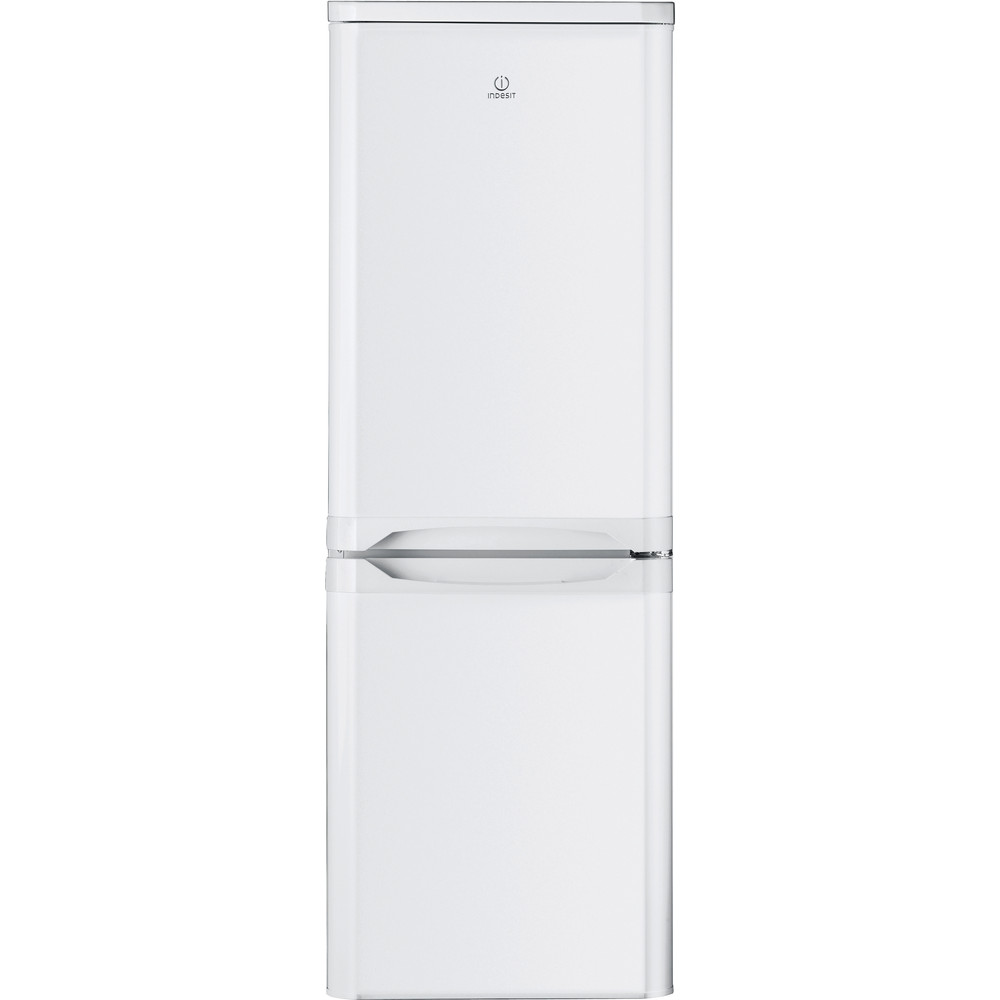 Indesit Комбиниран хладилник с камера Свободностоящи NCAA 55 Бял 2 врати Frontal
