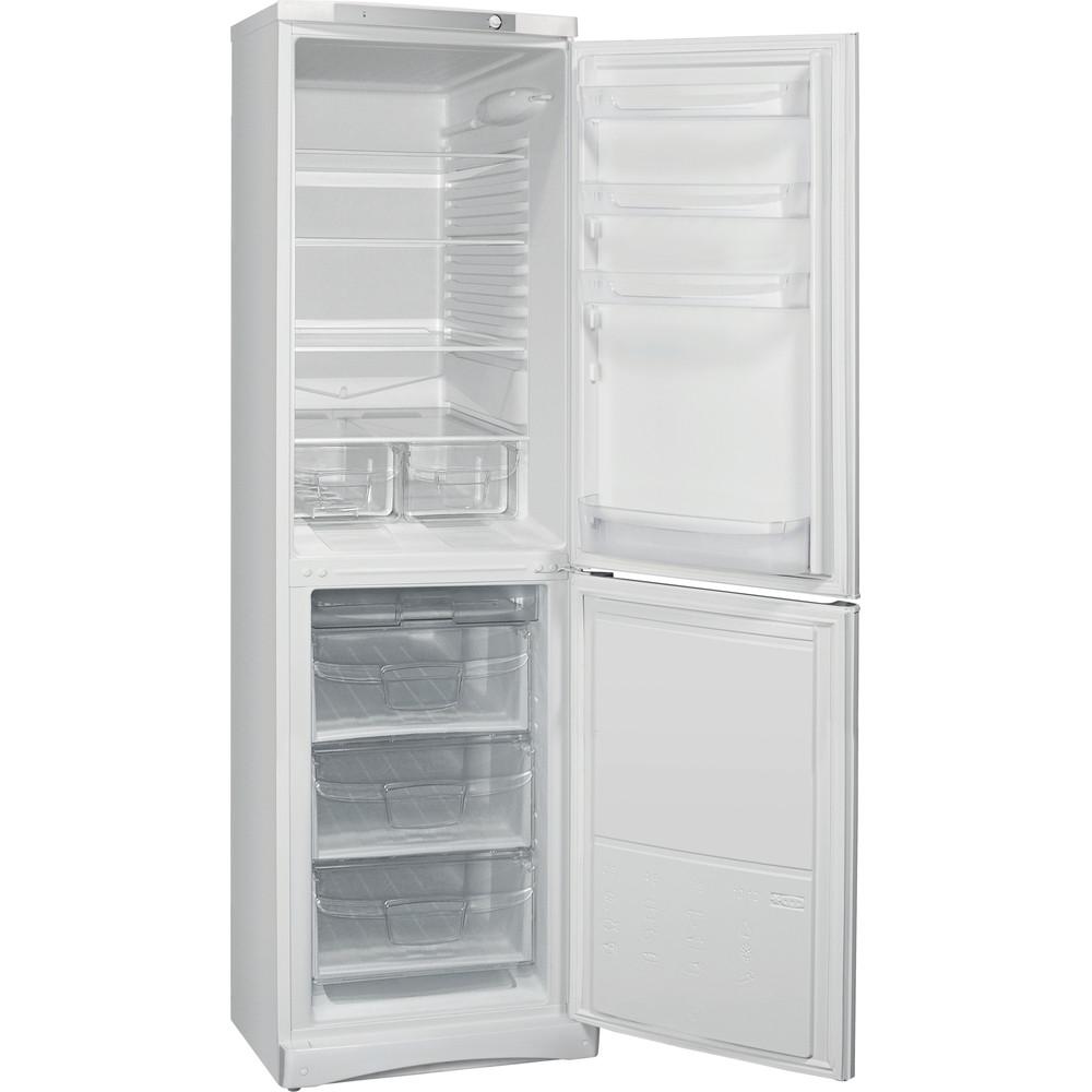 Indesit Холодильник с морозильной камерой Отдельностоящий ES 20 Белый 2 doors Perspective open