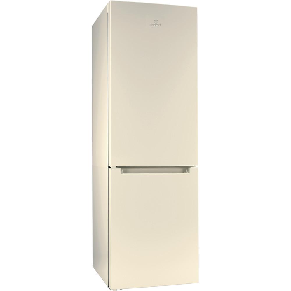 Indesit Холодильник с морозильной камерой Отдельностоящий DF 4180 E Розово-белый 2 doors Perspective