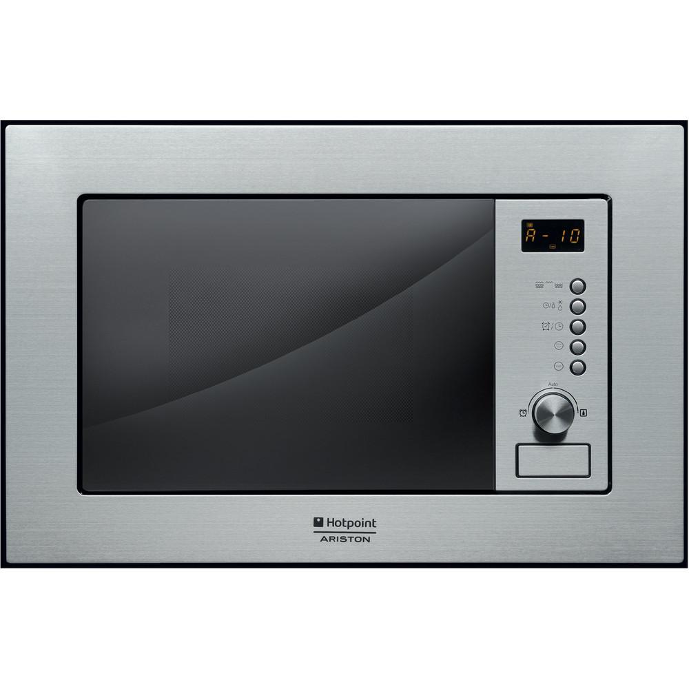 Hotpoint_Ariston Microonde Da incasso MWHA 122.1 X Inox Meccanico ed elettronico 20 Microonde + grill 800 Frontal