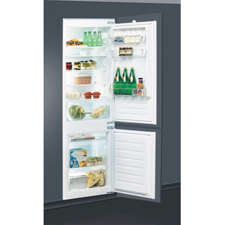 Whirlpool Kombinacija hladnjaka/zamrzivača Ugradni ART 65021 Bijela 2 doors Perspective open