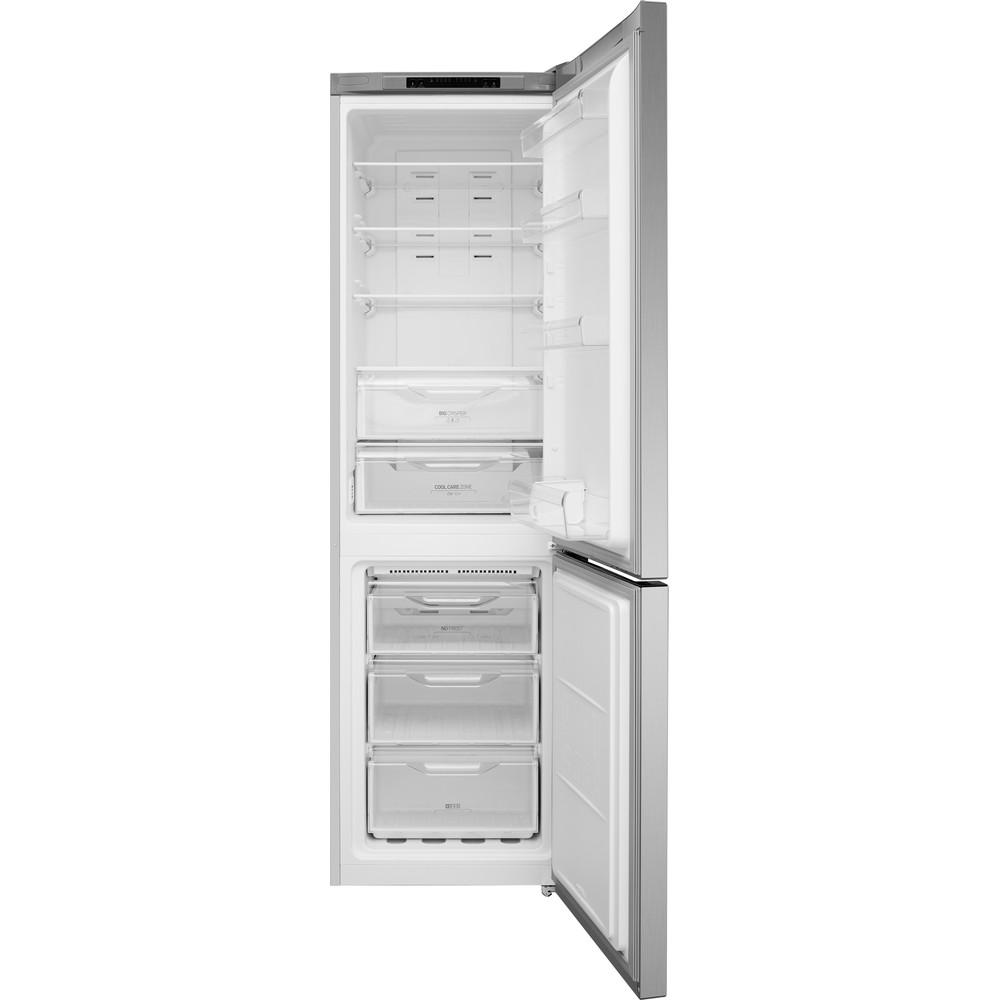 Indesit Combinado Livre Instalação XIT9 T3U X Inox 2 doors Frontal open