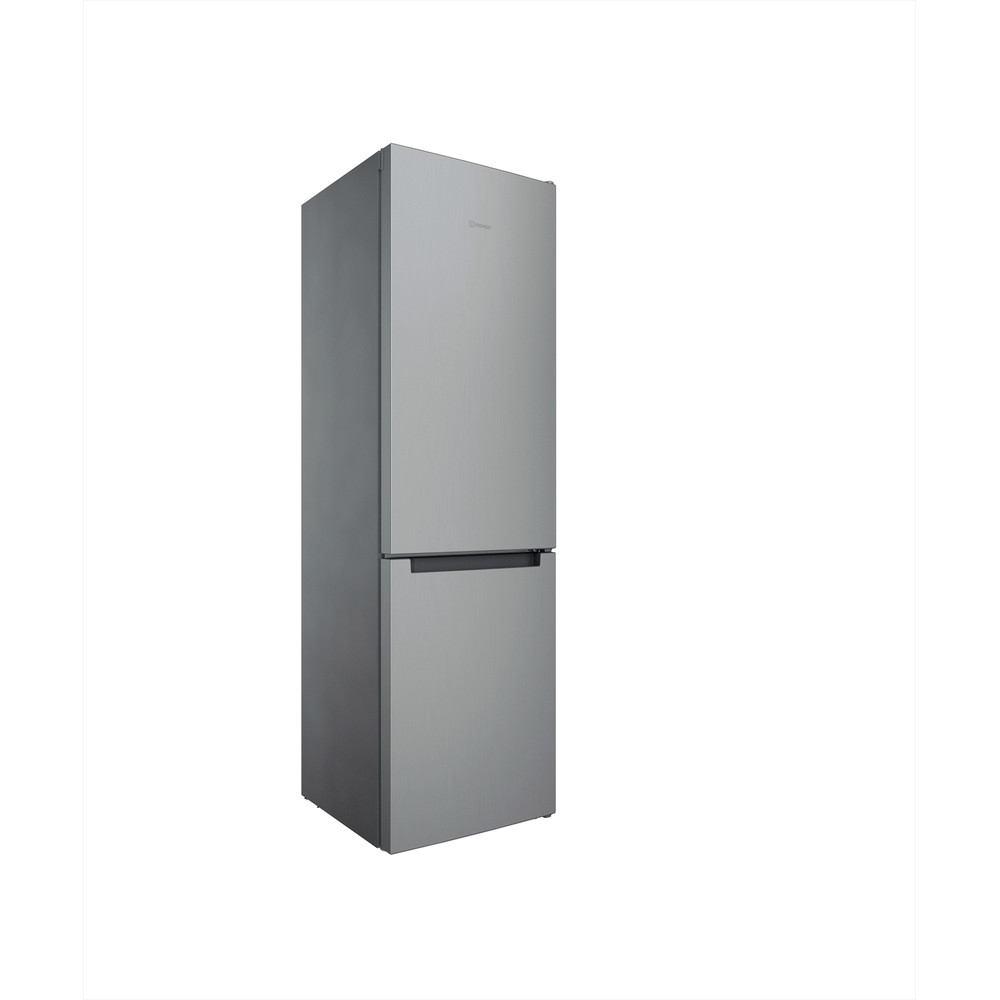 Indesit Kombinovaná chladnička s mrazničkou Volně stojící INFC9 TI21X Nerez 2 doors Perspective
