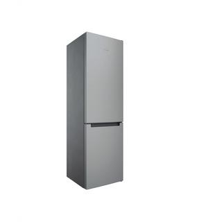 Indesit Kombinovaná chladnička s mrazničkou Voľne stojace INFC9 TI21X Nerezová 2 doors Perspective