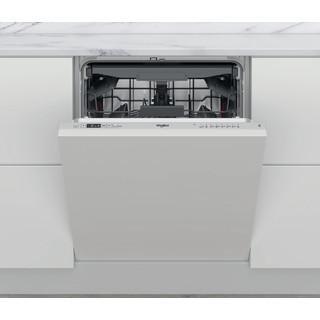 Whirlpool Indaplovė Įmontuojamas WIC 3C26 F Full-integrated E Frontal