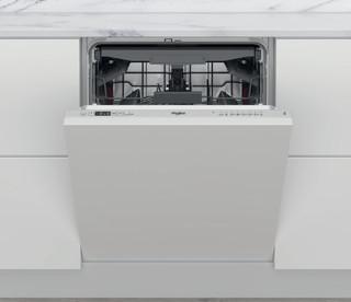 Whirlpool beépíthető mosogatógép: ezüst szín, normál méretű - WIC 3C26 F