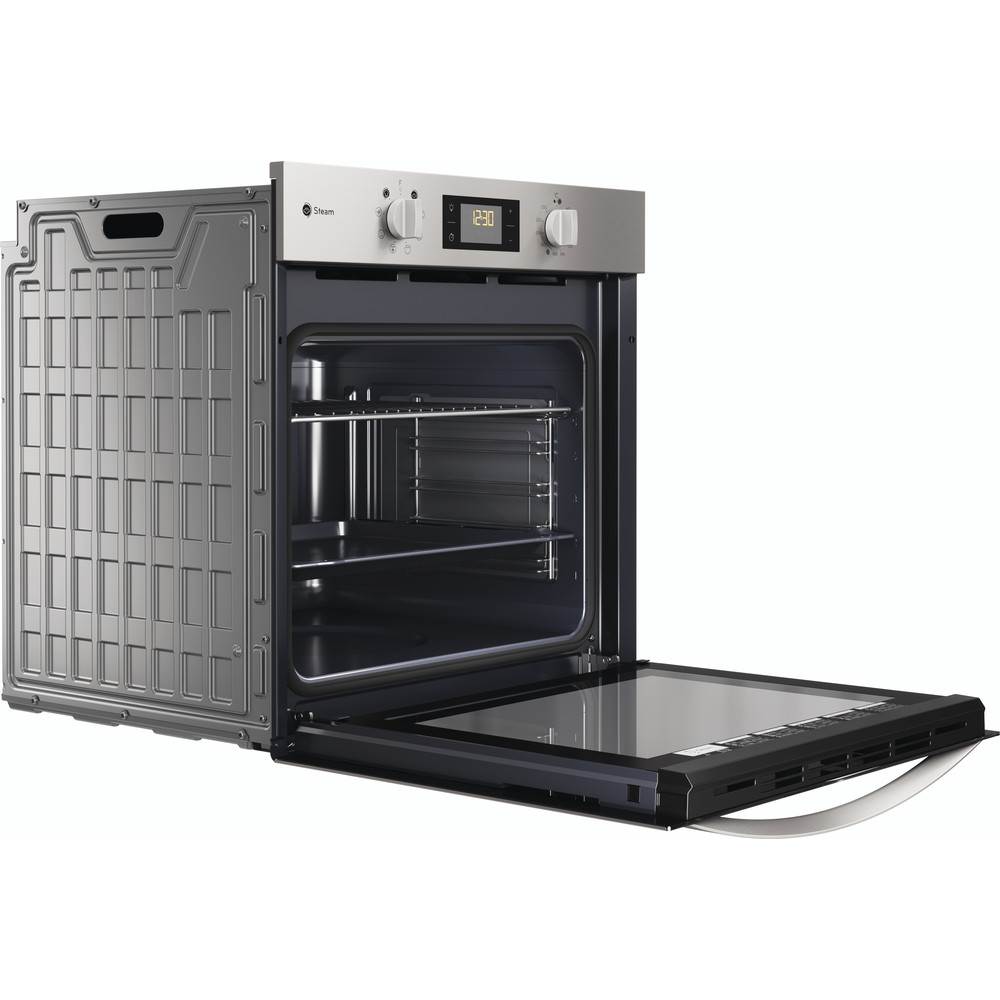 Indesit OVEN Built-in DFWS 5544 C IX UK Electric A Perspective open