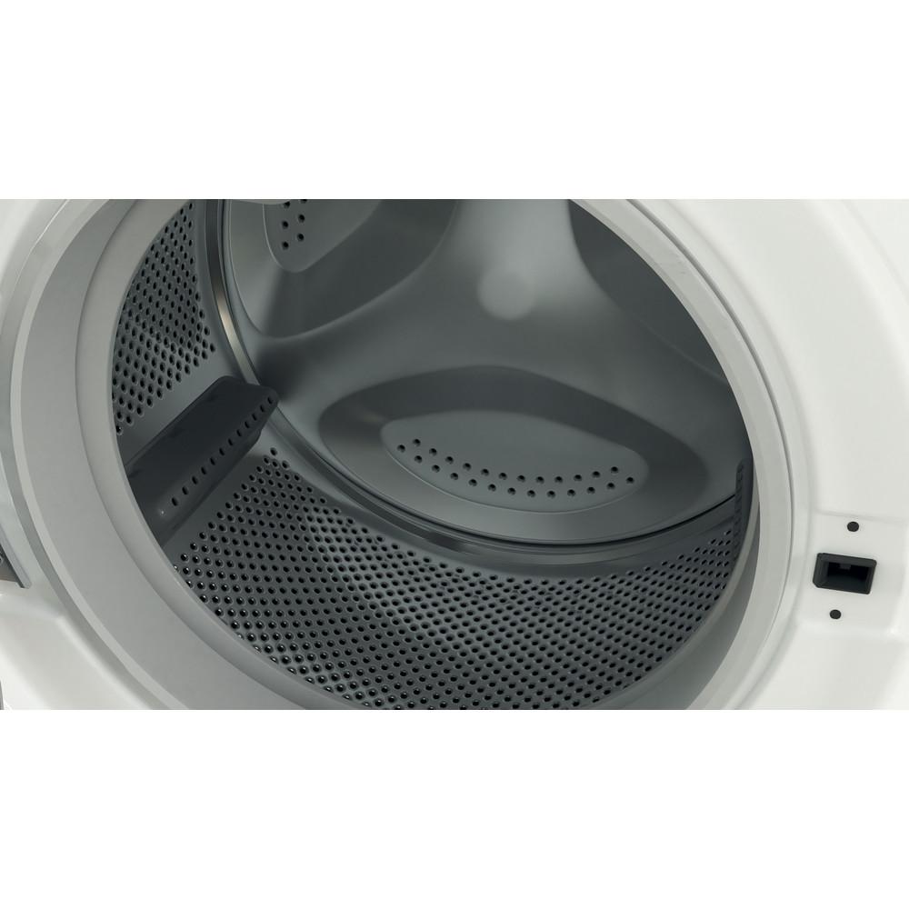 Indesit Tvättmaskin Fristående BWE 81484X WS EE N White Front loader C Drum