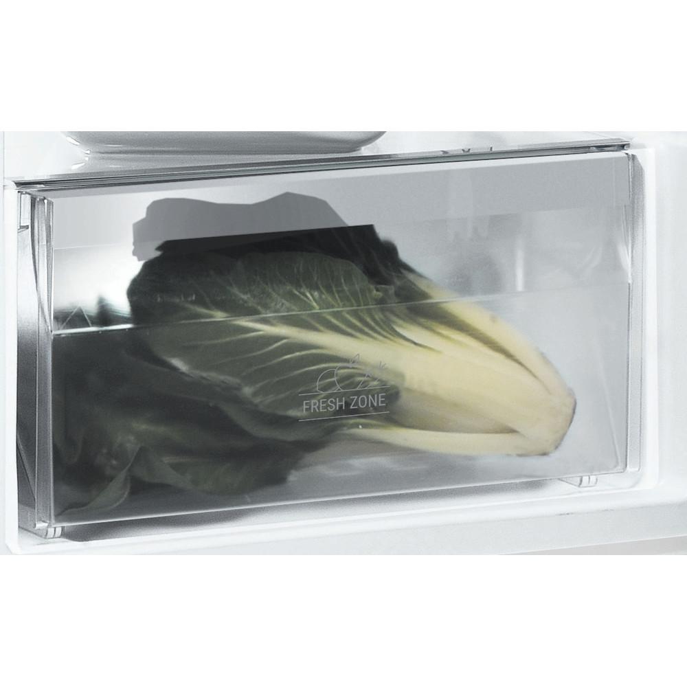 Indesit Kjøleskap Frittstående SI8 A1Q W 2 Polar white Drawer