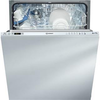 Lave-vaisselle complètement intégrable Indesit : Standard 60 cm, Couleur blanche