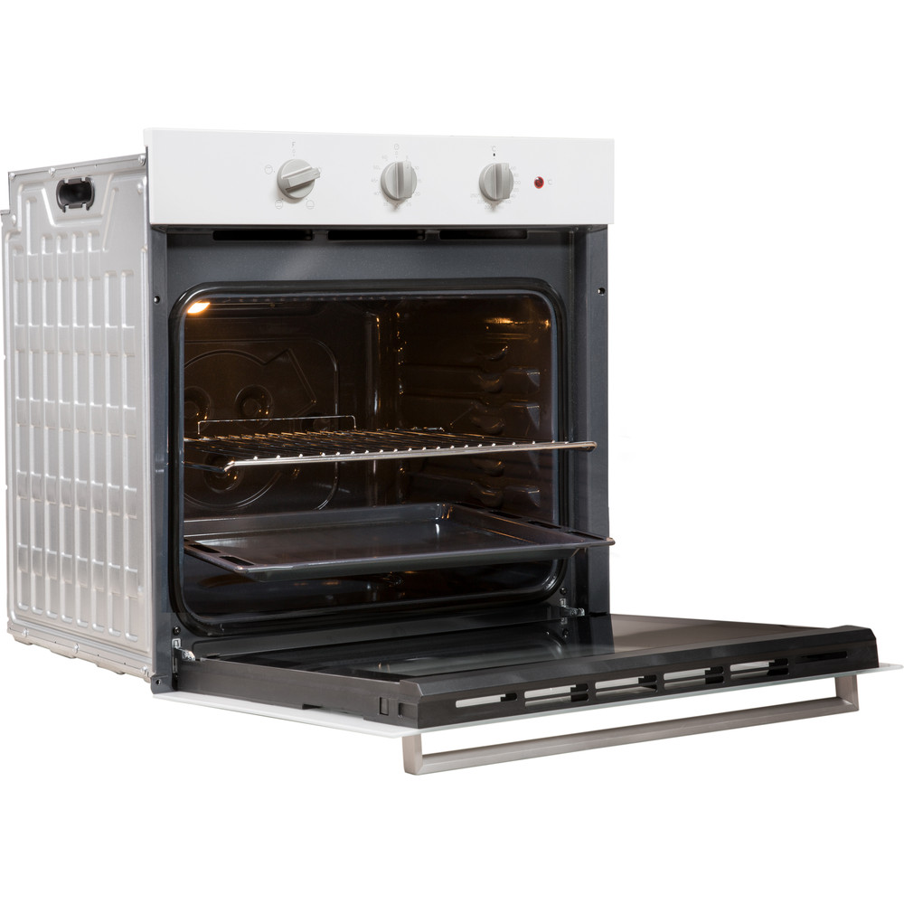 Indesit OVEN Built-in IFW 6230 WH UK Electric A Perspective open