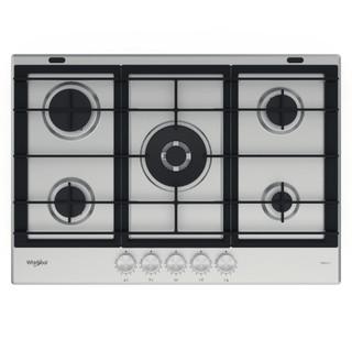 Whirlpool plinska kuhalna plošča: 5 plinski gorilniki - GMWL 728/IXL