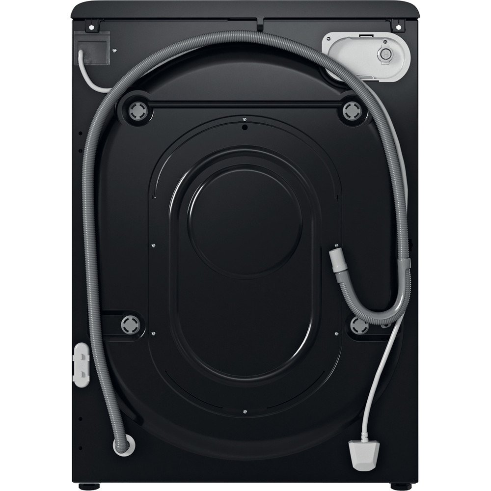 Indesit Washing machine Free-standing BWE 71452 K UK N Black Front loader E Back / Lateral