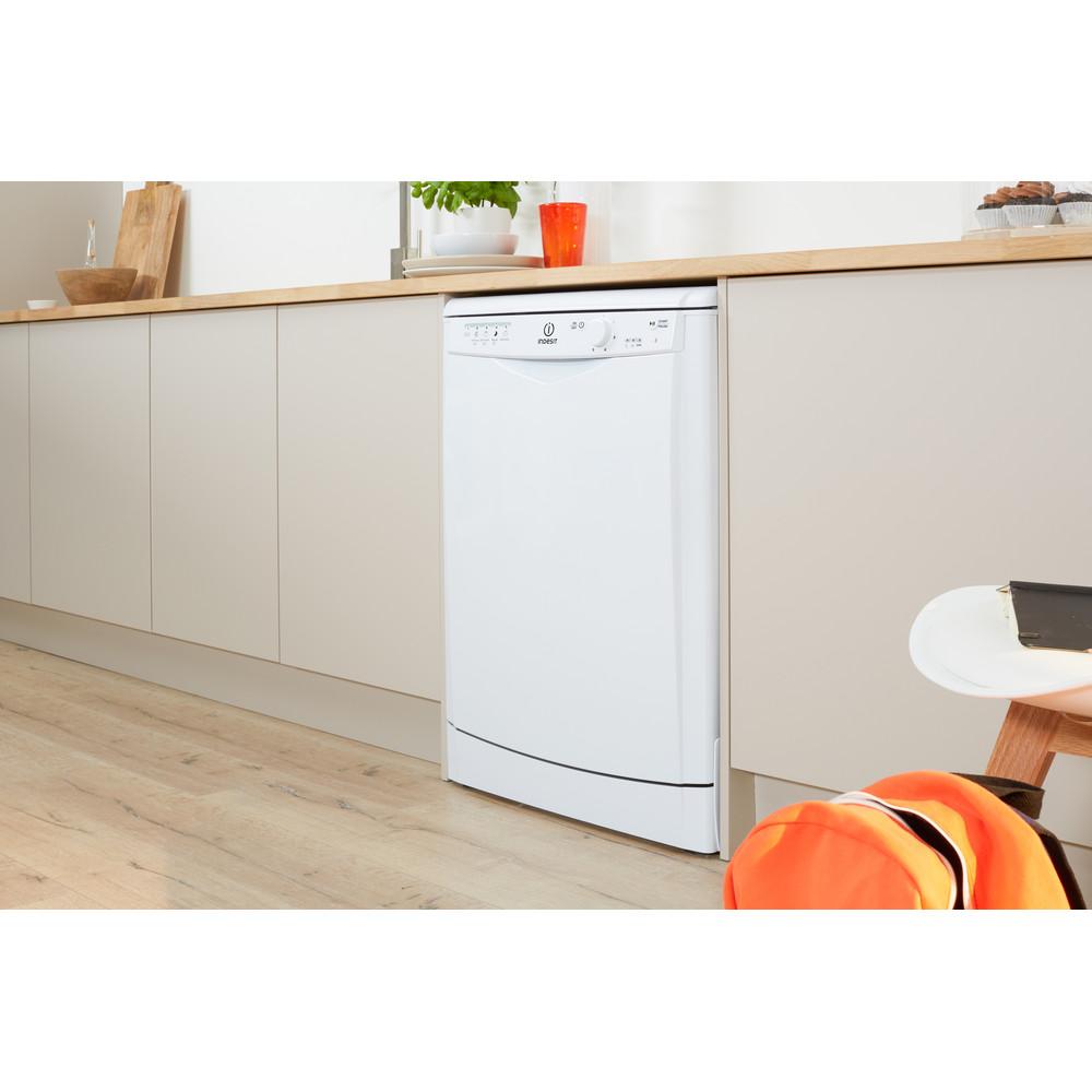 Indesit Dishwasher Free-standing DFG 15B1 UK Free-standing A Lifestyle perspective