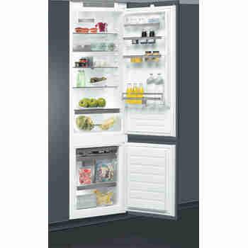 Whirlpool Racitor-congelator combinat Încorporabil ART 98101 Alb 2 doors Perspective open