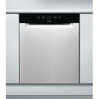 Whirlpool oppvaskmaskin: farge stål, 60 cm - WUE 2B16 X
