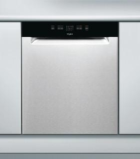 Whirlpool-opvaskemaskine: inox-farve, fuld størrelse - WUE 2B16 X
