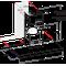 Indesit Afzuigkap Ingebouwd IHBS 9.4 LM X Rvs Wandmodel Mechanisch Technical drawing