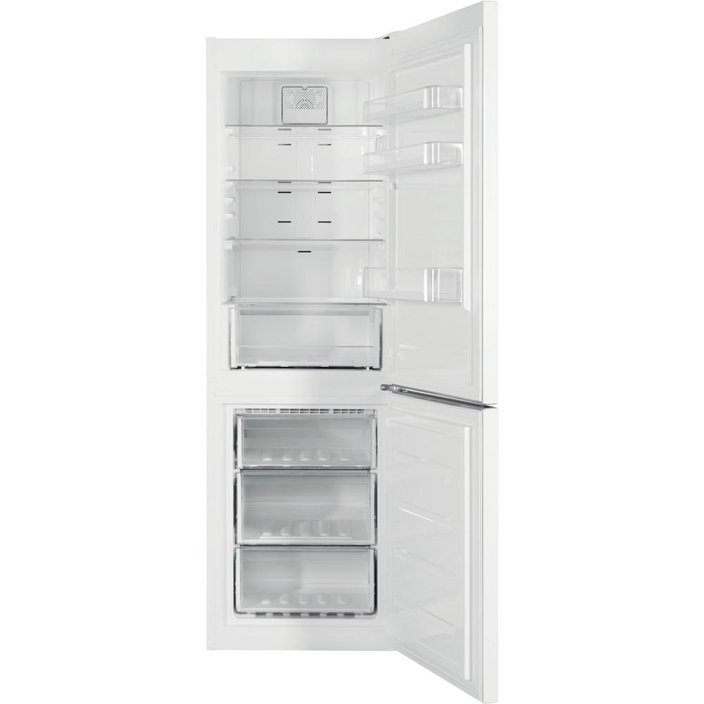 Indesit Køleskab/fryser kombination Fritstående XIT8 T1E W Hvid 2 doors Frontal open