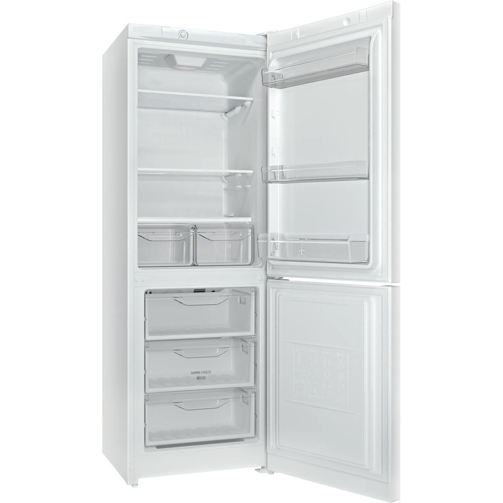Indesit Холодильник с морозильной камерой Отдельностоящий DSN 16 Белый 2 doors Perspective_Open