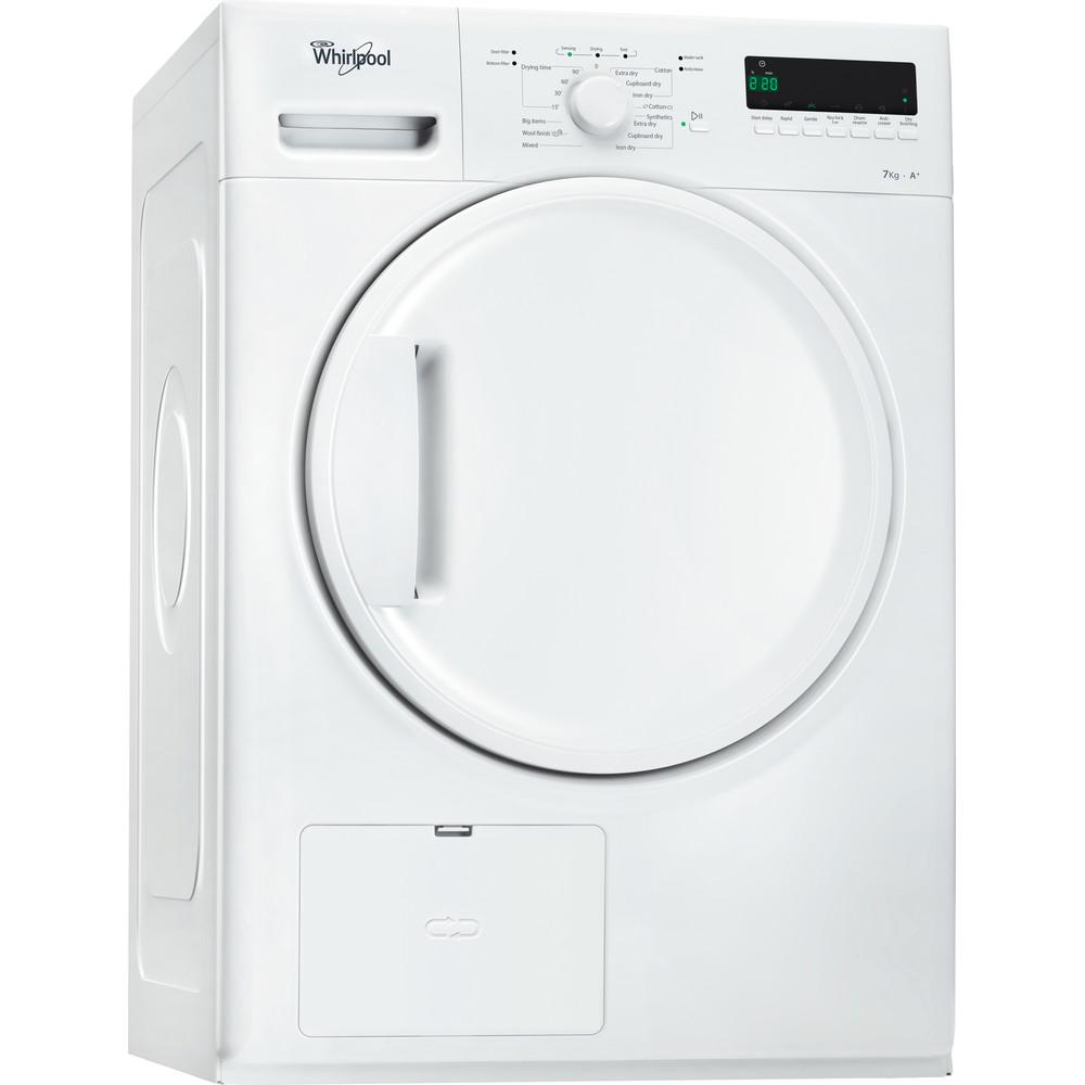 Whirlpool värmepumpstumlare: fristående, 7 kg - HDLX 70310