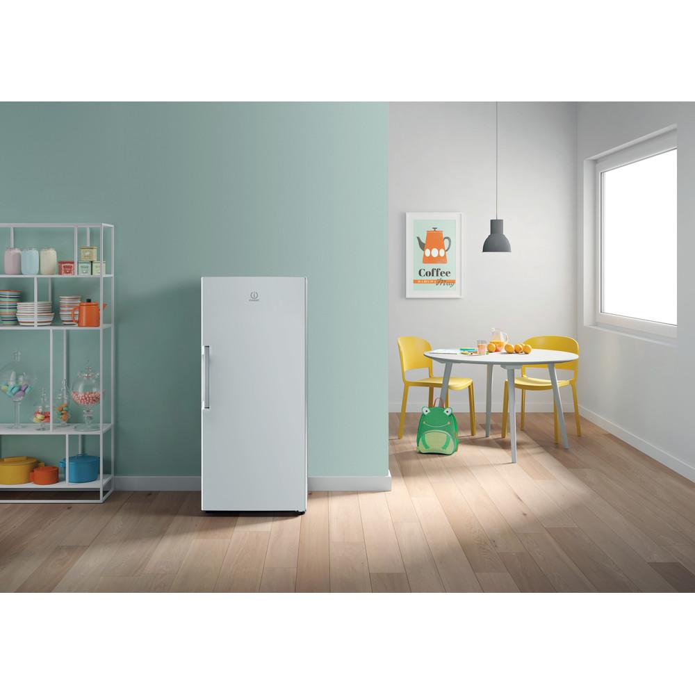 Indesit Refrigerator Free-standing SI4 1 W UK 1 Global white Lifestyle frontal