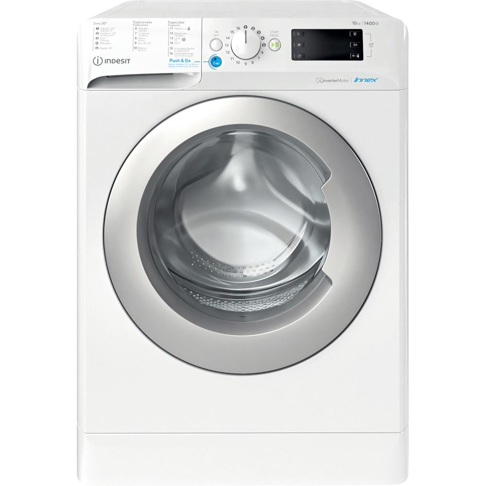 Indesit Máquina de lavar roupa Livre Instalação BWE 101483X WS SPT N Branco Carga Frontal D Frontal