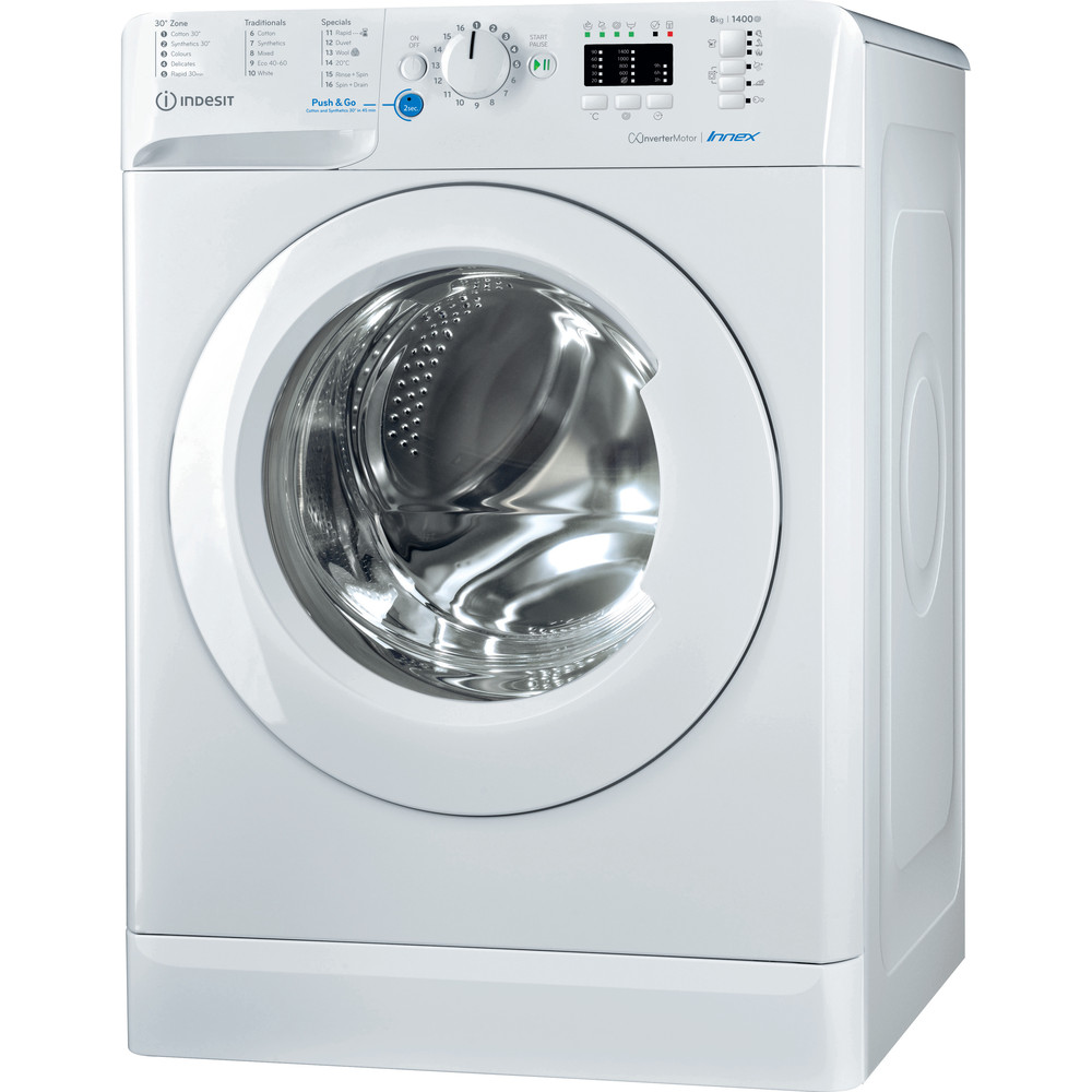 Indesit Innex BWA 81484X W UK N Washing Machine - White