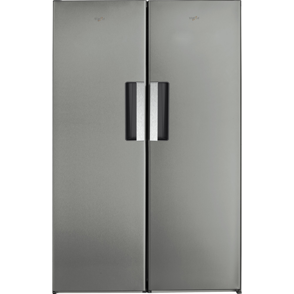 Whirlpool SW8 AM2C XARL 2 Larder Fridge 350L - Stainless Steel