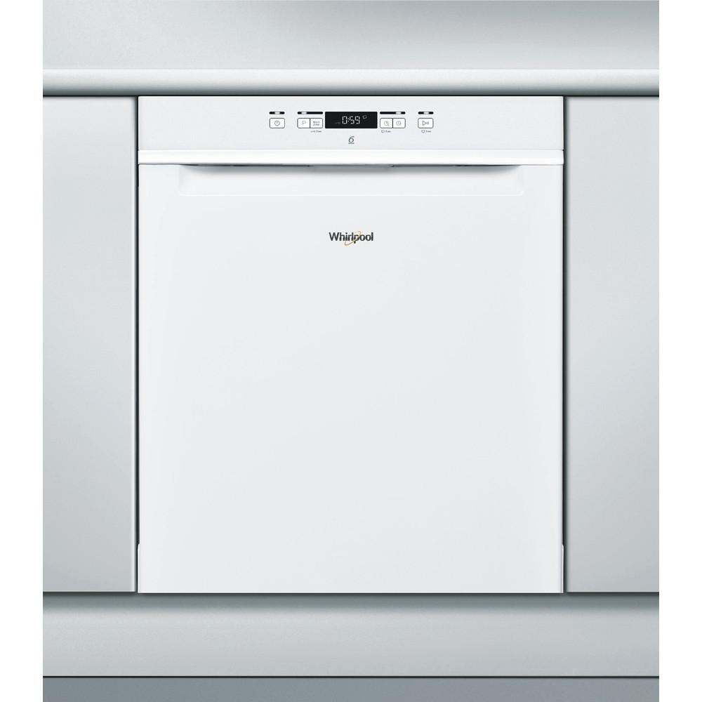 Whirlpool oppvaskmaskin: farge hvit, 60 cm - WUC 3C26 F