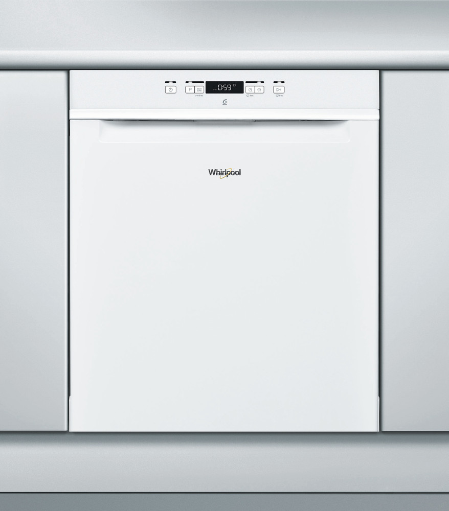 Whirlpool Astianpesukone Vapaasti sijoitettava WUC 3C26 F Työtason alle A++ Frontal