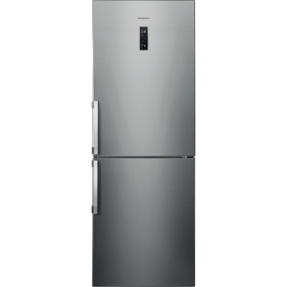 Hotpoint Fridge Freezer Free-standing NFFUD 191 X Optic Inox 2 doors Frontal