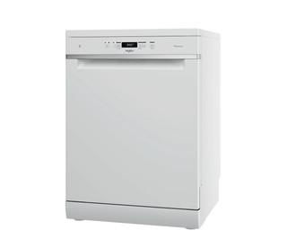 Съдомиялна Whirlpool: бял цвят, пълен размер - WFC 3C33 PF
